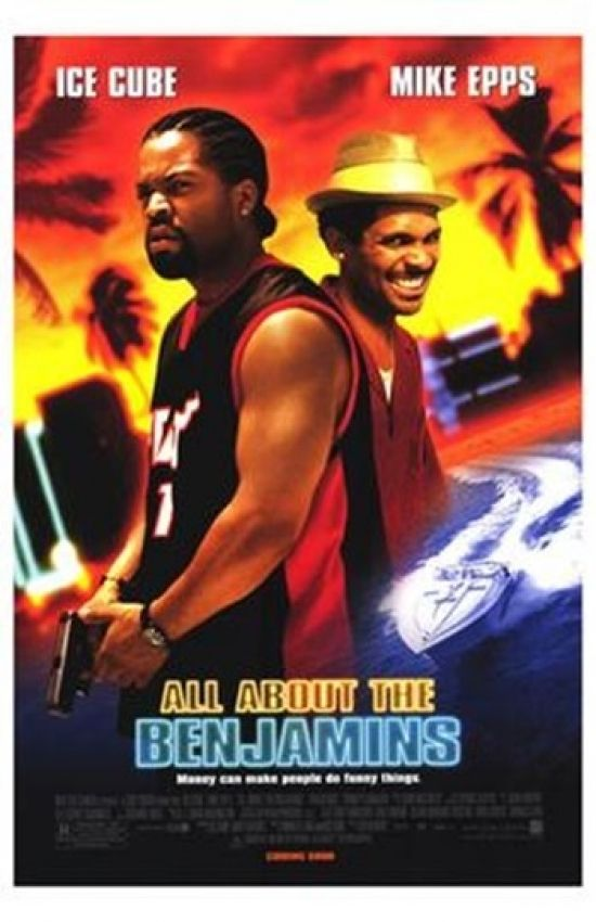 All About The Benjamins Movie Poster 11 X 17 In 2021 Movie Posters Mike Epps Free Movies Online