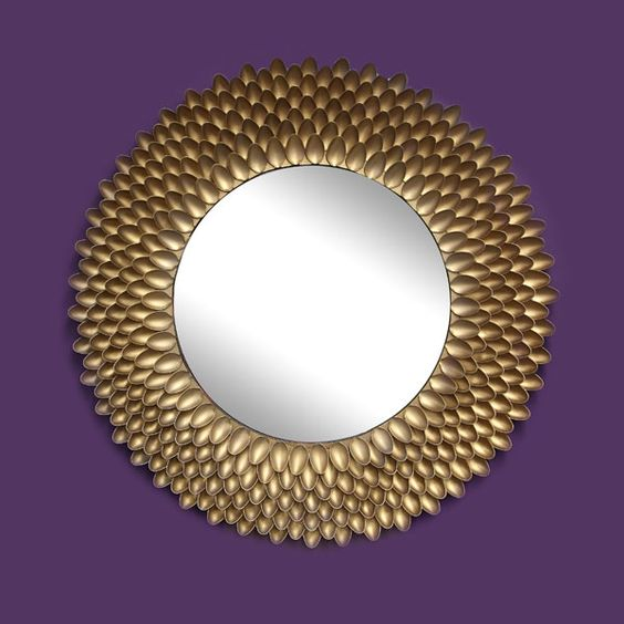 Spoon mirror Gold mirrors and Spoons on