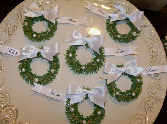Winter White Cupcake Toppers Christmas Decoration by JeanKnee, $12.00