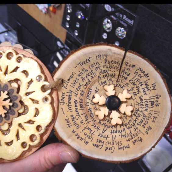 Maya Road wood scrapbook