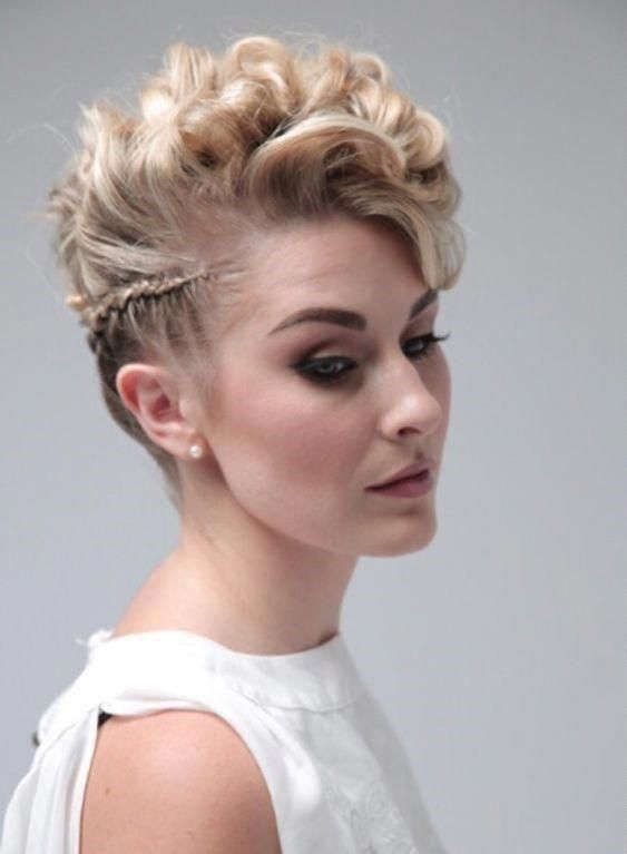 20 Easy Prom Hairstyles For 2019 You Have To See Short Wedding Hair Pixie Wedding Hair Prom Hairstyles For Short Hair