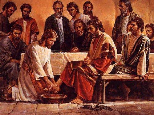 Lava-pés | Imagens Bíblicas