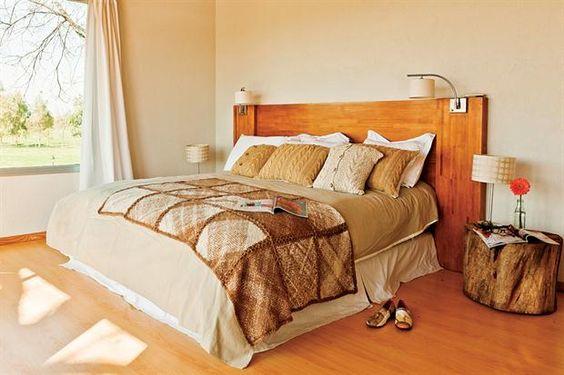 Cabeceras de cama para todos los gustos textiles - Cabeceras de cama de madera ...