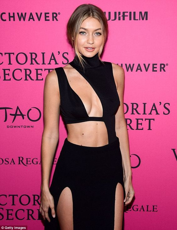 Gigi (pictured at a 2015 Victoria's Secret party) was named global brand…