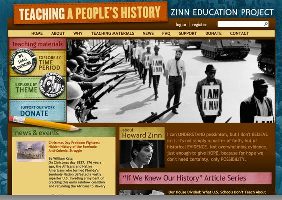 history 17a zinn article For zinn and his admirers, previous accounts of american history are  in a  people's history, zinn boldly borrowed from earlier archival work he did  i  think the comment thread here does even more than the article itself to.