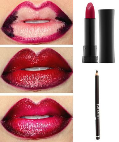 Google and search on pinterest for Labios mate paso a paso