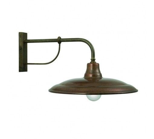 Brass Copper Wall Lights : La Tinaia Wall Sconce - Brass & Copper Country Gear Ltd Barn Lights Pinterest Country ...