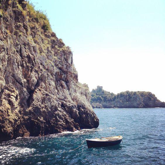 Grotta dello Smeraldo near Amalfi.