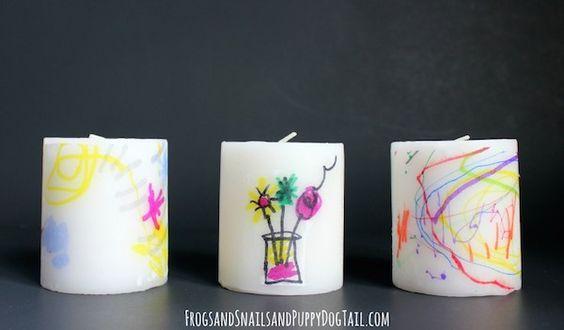 Regalos Día de la Madre: velas decoradas | Pequeocio.com
