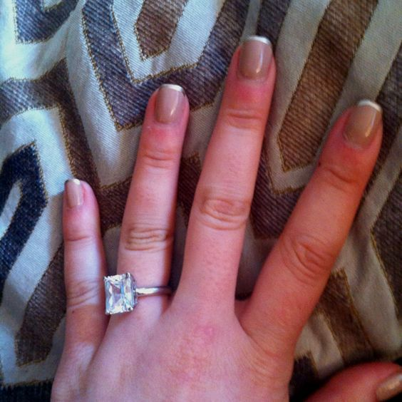 My own nail art for this week. nude with gilded tips!  Love!