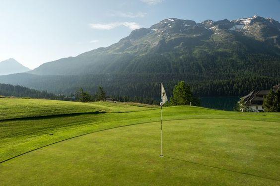 Kulm Hotel St. Moritz: Kulm Golf St. Moritz