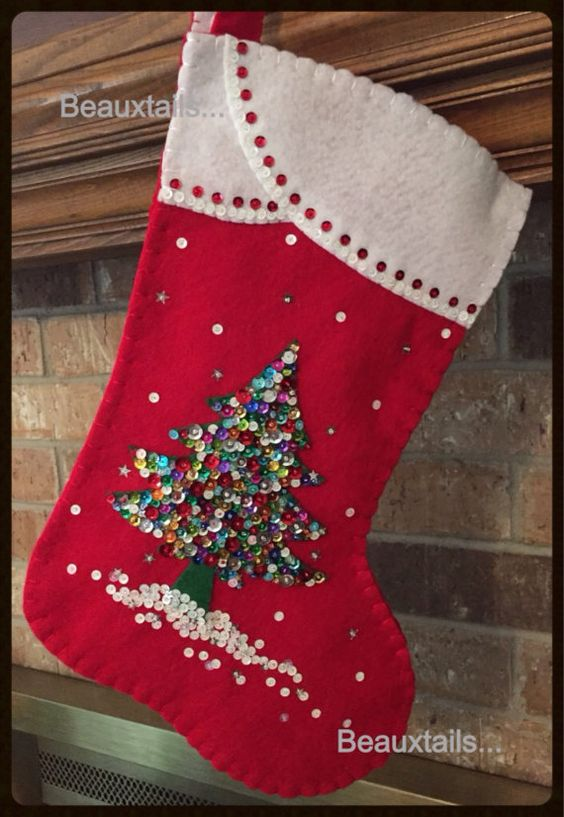 Felt Christmas Stockings Stockings And Felt Christmas On