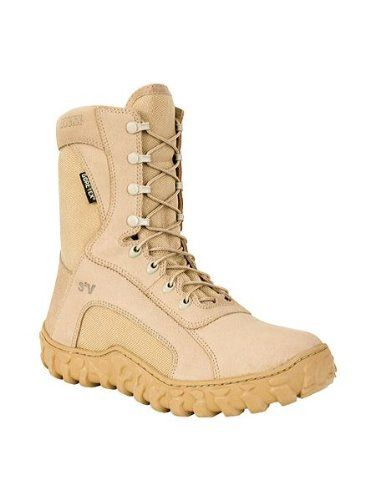 Click Image Above To Purchase: Rocky Fq00101-1 Men's S2v Insulated Tan 8-inch Tactical Boot