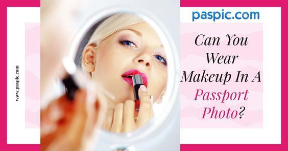 Makeup In Passport Photo