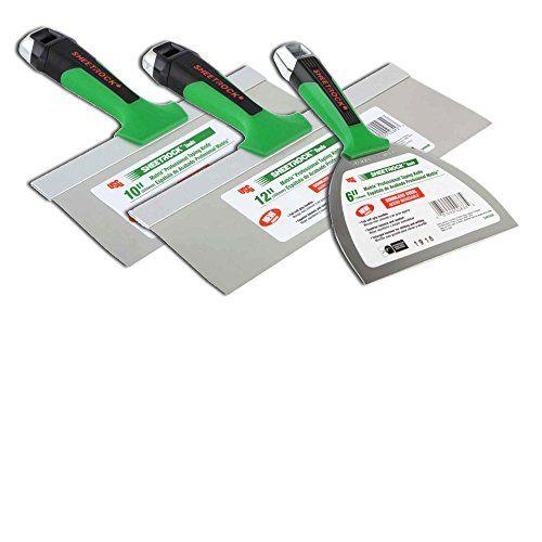 Usg Sheetrock Matrix Drywall Taping Knife Set 6 10 12 Stainless Steel Knife Sets Knife Set Best Sheetrock