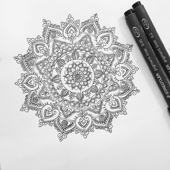 «Mandala for Danielle Cudworth (all designs are subject to copyright) to order you own custom design visit www.oliviafaynetattoodesign.com or email:…»