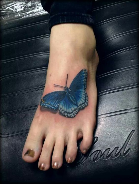 Carpe Diem tatoo with a similar butterfly done at Monarch Tattoo _ done by David spataro