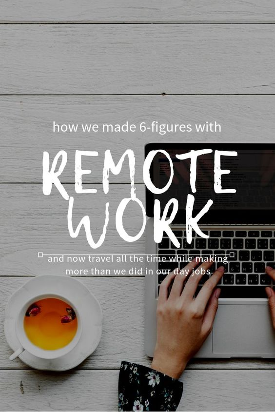 Remote Work Tips 40838