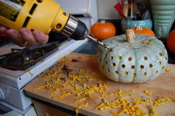11 Household Items You Can Use to Decorate Your Pumpkin - Neatorama