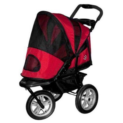 Pet Gear AT3 Generation 2 All- Terrain Pet Stroller for pets up to 60-Pounds, Red Poppy  This stroller is absolutely great for our family runs... my girl has heart disease and she can enjoy the rides with us...  excellent quality product