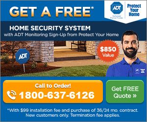 ADT Home Security Offer