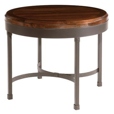 """36"""".      Stone County 904-443-WAL Cedarvale Cafe End Table, Natural Black"""