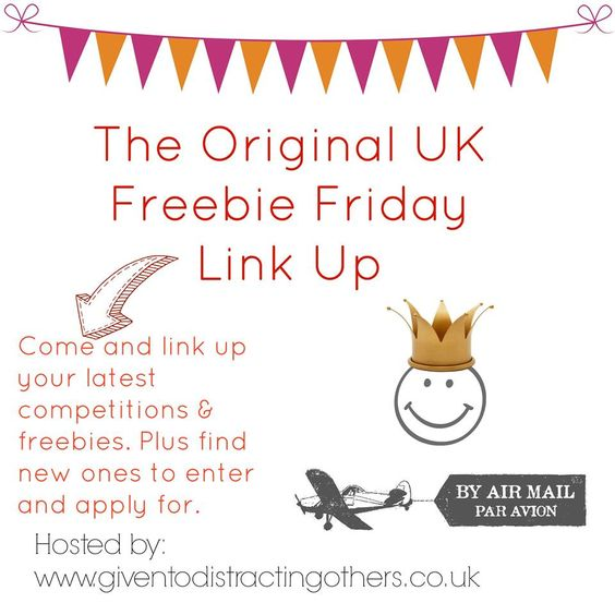 Given To Distracting Others: Freebie Friday 5th June Giveaway
