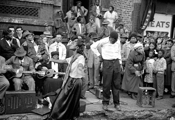 Blues Performers On Maxwell Street C 1940 S 1950 S