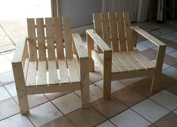 Diy Step By Step How To Build A Patio Lounge Chair