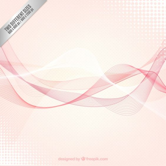 Red wave background Free Vector