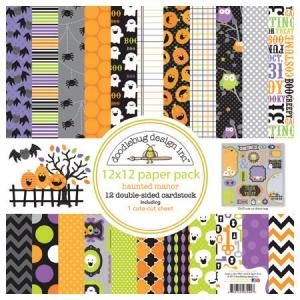 Doodlebug design - Haunted Manor - Paper Pack