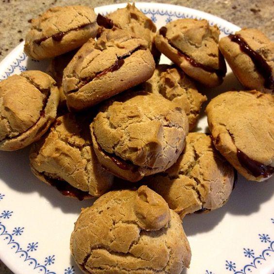 Healthy dessert – Coconut Butter Cream Puffs