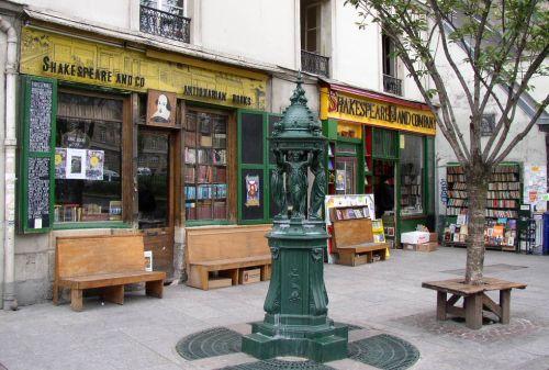 Shakespear bookshop