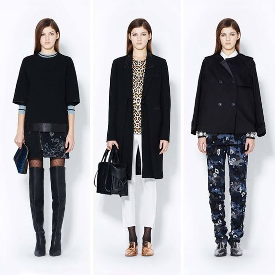 3.1 Phillip Lim - Women's PreFall 2013 (8 photos)  Inspired by Danny Lyons' renegades and outlaw girlfriends, this collection represents a nomadic spirit filled with curiosity and celebration.