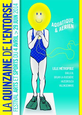 Quinzaine de l'Entorse 2014 «Aquatique et Aérien»