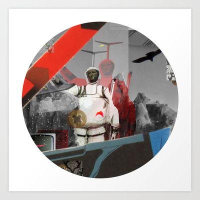 Essence Of Life · Zwischenwelten · Transfer & Dream · Crop Circle Detail 3 Art Print by Marko Köppe - $19.99
