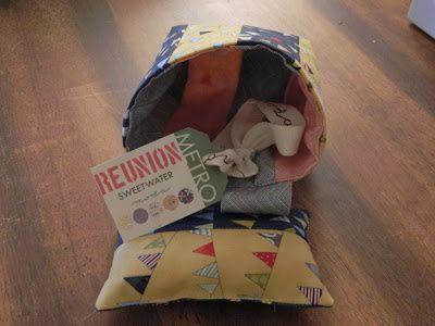 GMHN Quilts par Penny Doucette: Que pouvez-vous faire avec un rouleau de la gelée? Projet de trois. attrape-fil.