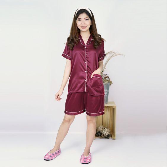 Baju Tidur Bahan Katun Rayon