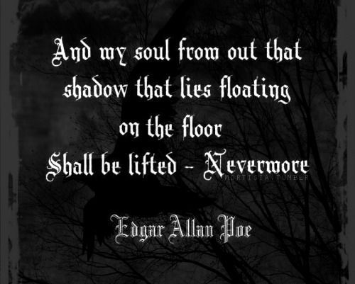 despair and gloominess in edgar allan poes the raven The attitude towards the death of a beloved  man shows despair and loses hope  of the dissertation we use poems of edgar allan poe: the raven methodology.