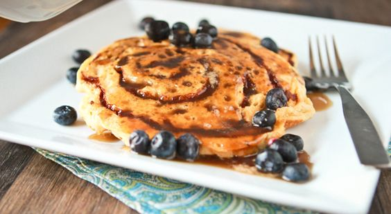 Cinnamon roll pancakes.  This must be made.