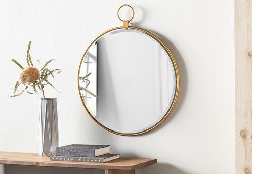 Accent Mirror Reviews Wayfair, How To Hang Three Circle Mirrors
