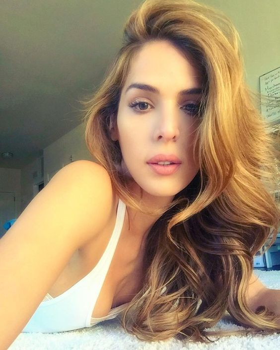 Pin for Later: 11 Reasons Carmen Carrera Should Be Victoria's Secret's First Transgender Model She's Got the Look Aside from being blessed with a gorgeous model face, those bombshell waves were made for this runway.