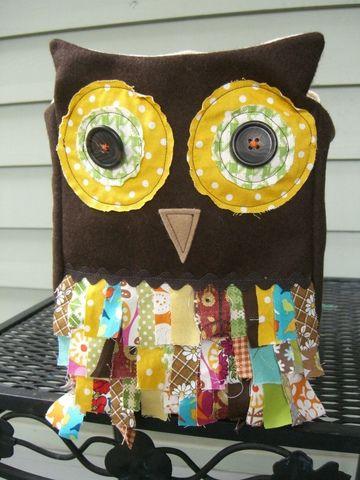 DIY Owl Retro Handbag