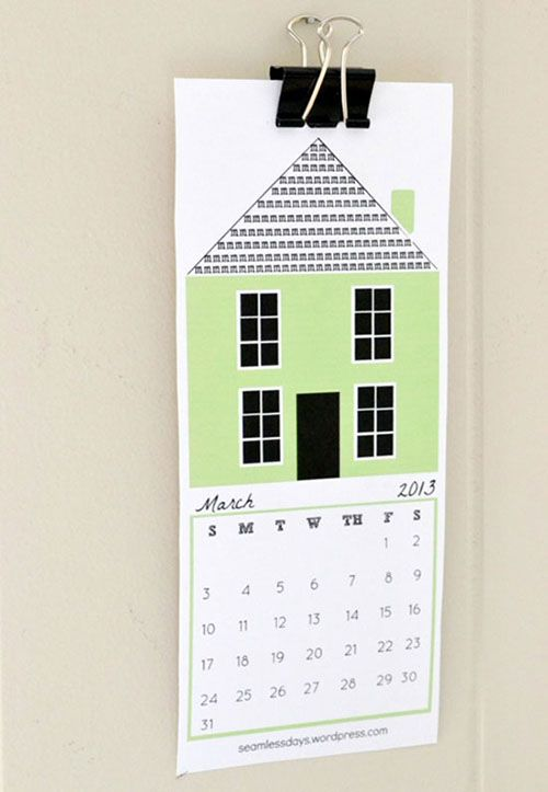 Hope And A Home Free Printable 2013 Calendar Creative Calendar