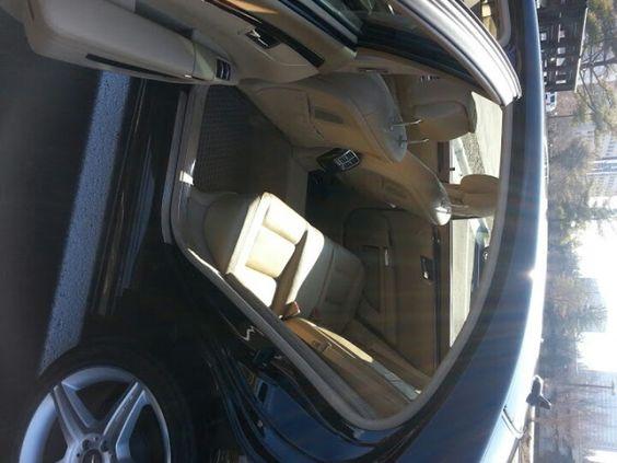 S550 interior detail
