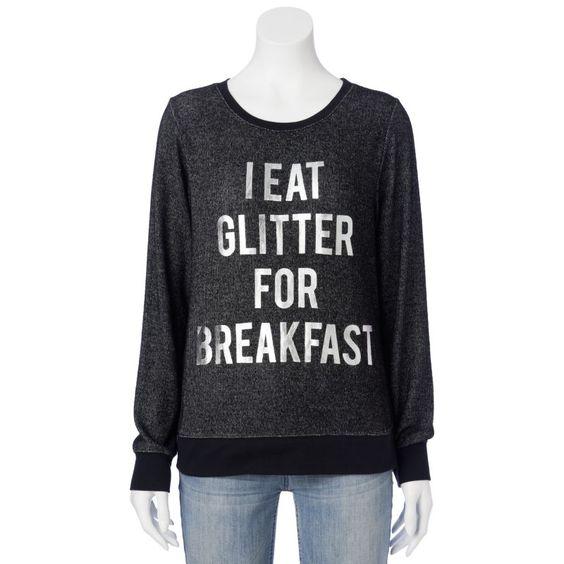 I eat glitter for breakfast. Kohl's