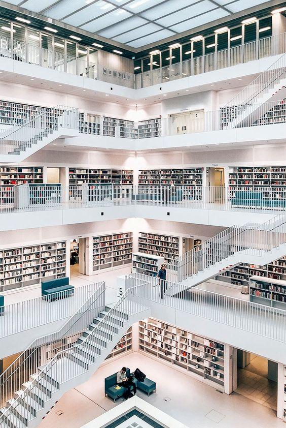 Die Stadtbibliothek Stuttgart
