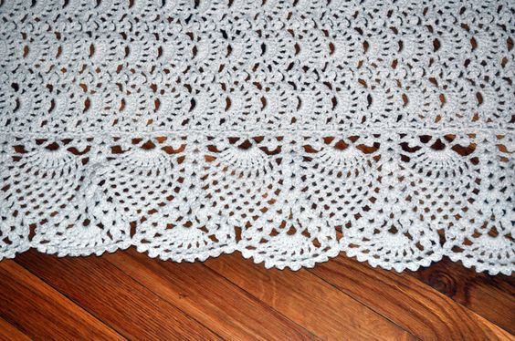 Detail of Exquisite Baby Afghan Pattern by Terry Kimbrough