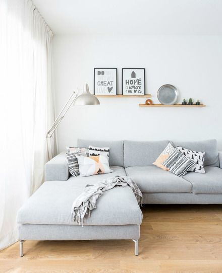 Happy scandinavian in friesland styling for Wohnzimmer scandi style