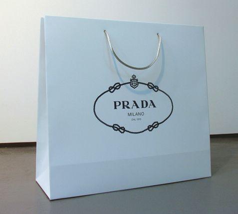 prada handbag authentic - Prada paper bag | Shopping bags & packaging Design | Pinterest ...